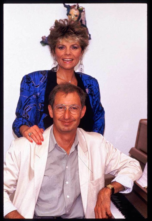 Marion Kaempfert mit ihrem Mann Allan Botschinsky    Foto: Archiv Marion Kaempfert