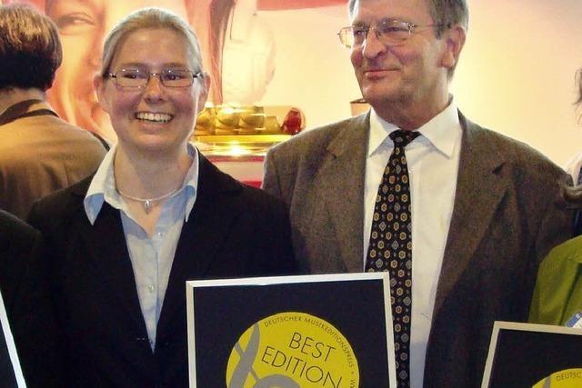 Dieter Zeh erhält Musikeditionspreis