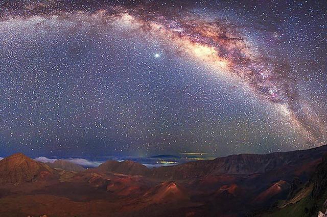 Warum die Nacht trotz der Sterne schwarz ist