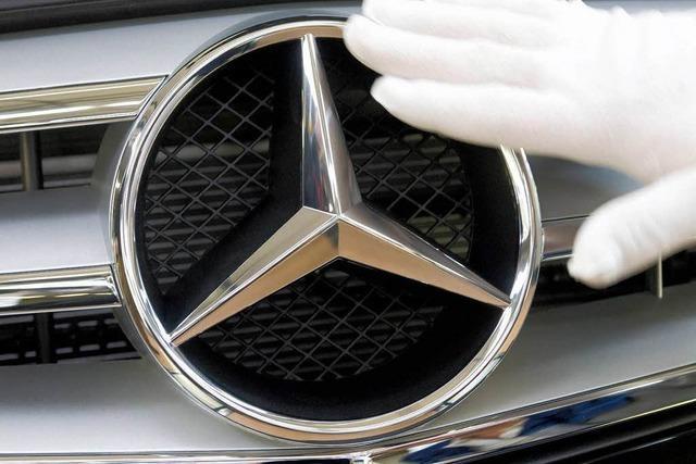 Daimler schließt Entlassungen in der Krise nicht aus