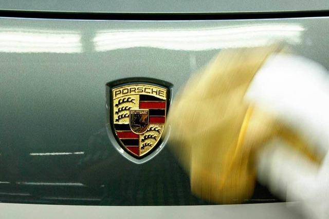 Porsche steigert Absatz in Deutschland