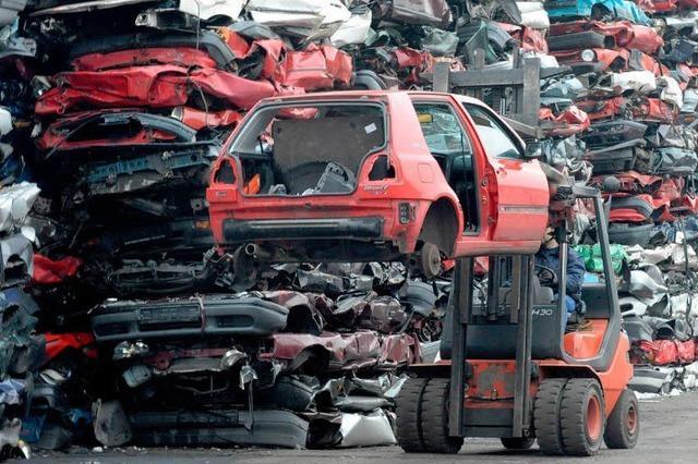 Abwrackprämie für weitere 800 000 Autos