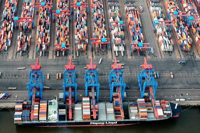 Stärkster Exporteinbruch seit 1950