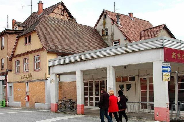 Rappen-Areal wird abgerissen