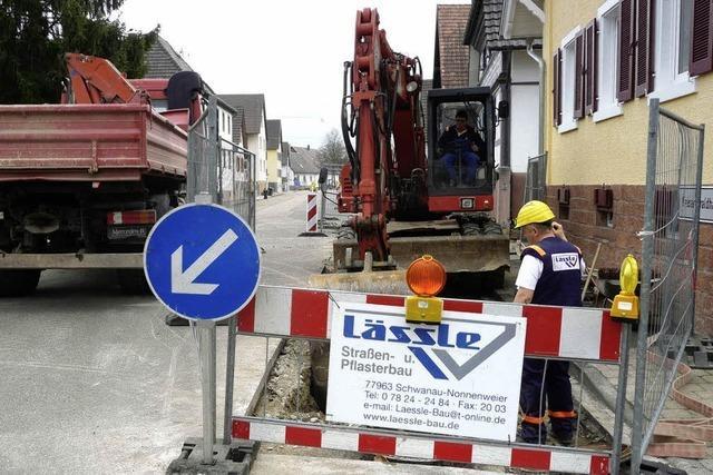 Sanierung des Wylerter Kanalnetzes geht weiter