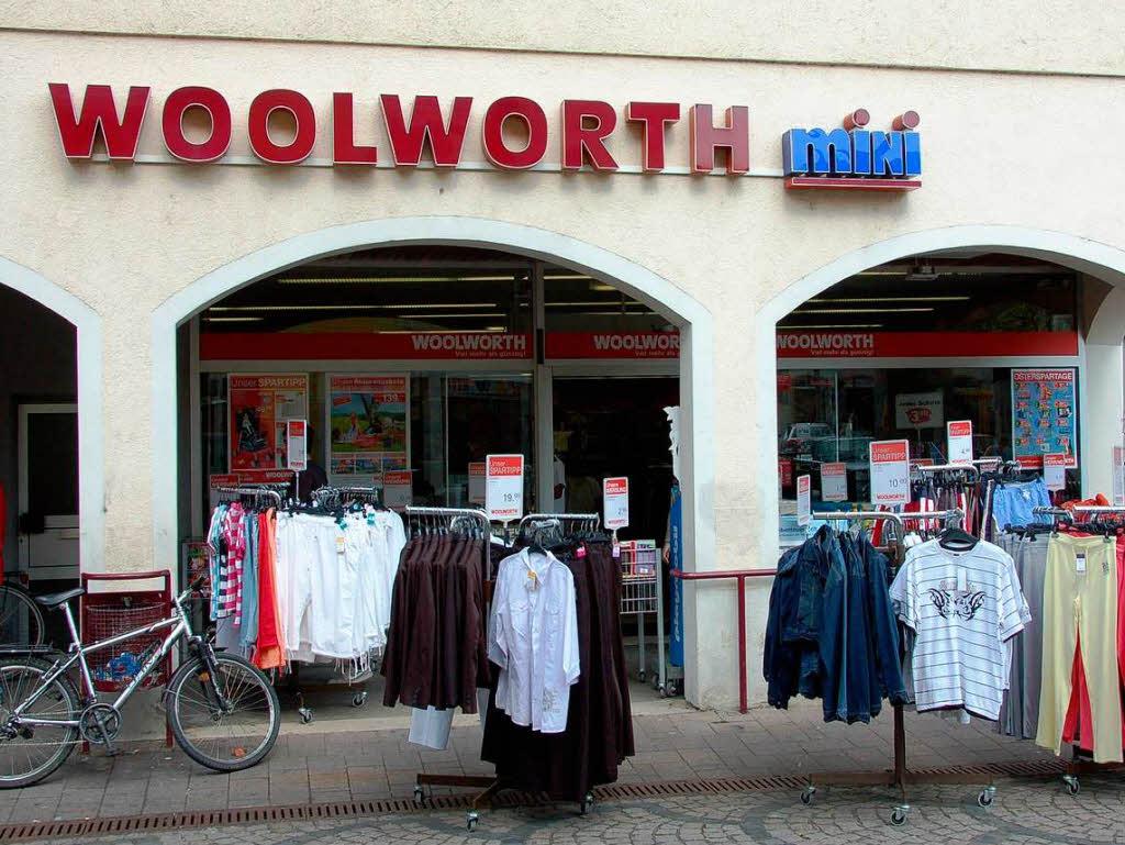 Woolworth Droht Das Ende Auch Sudbaden Betroffen Wirtschaft Badische Zeitung