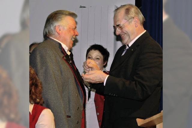 Ehrennadel des Landes für Heinz-Dieter Benischke