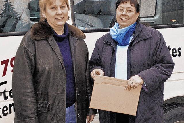 Papierkrieg bremst Spenden
