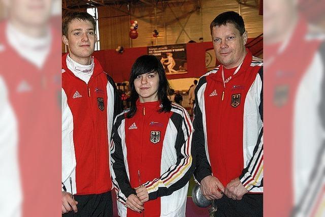Erfolg bei der WM für Waldkircher Fechter