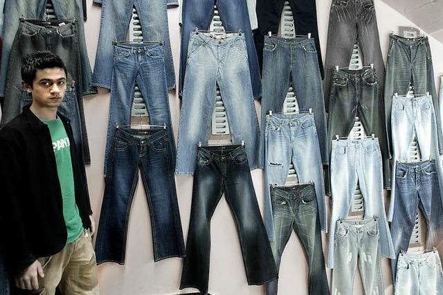 Jeans ohne Sandstrahler