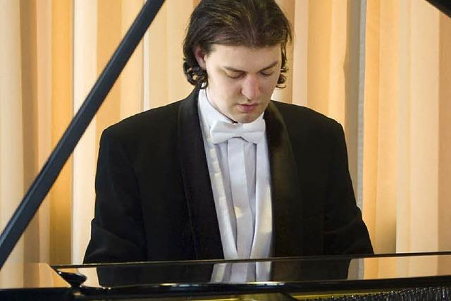 DEMNÄCHST: KLASSIK : Ein Pianist und zwei Großmeister