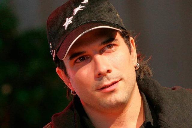 Warum sich Popsänger Marc Terenzi in Endingen wohl fühlt