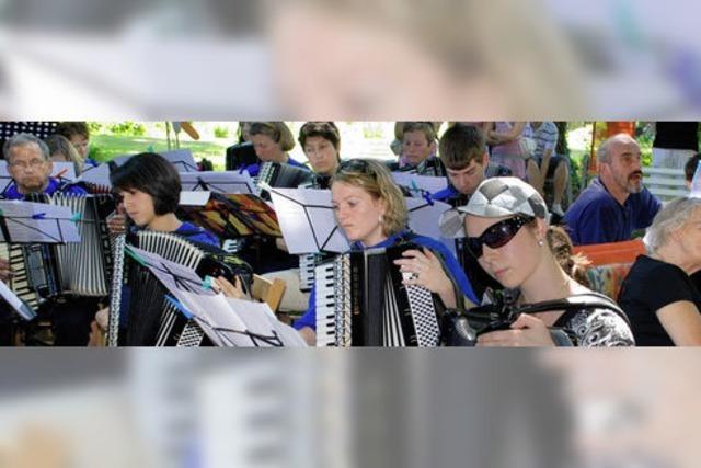 Harmonika-Oldies als Aktivposten