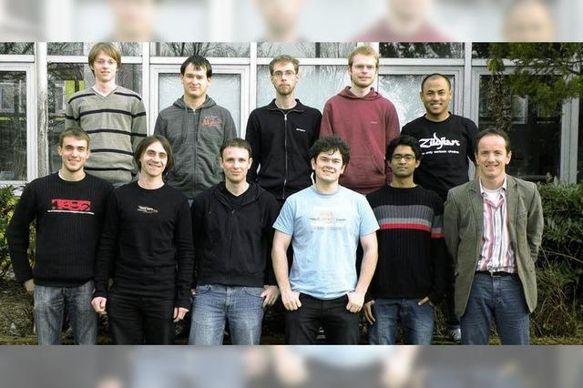 Offenburger Studenten bei der Roboter-WM in Graz
