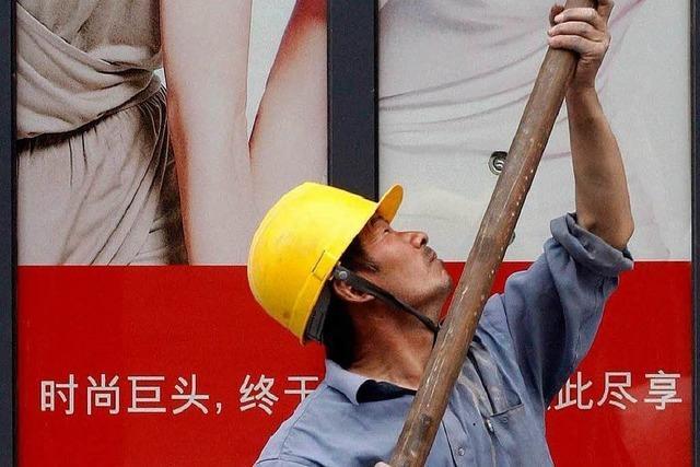 Chinas Wirtschaft wächst immer langsamer