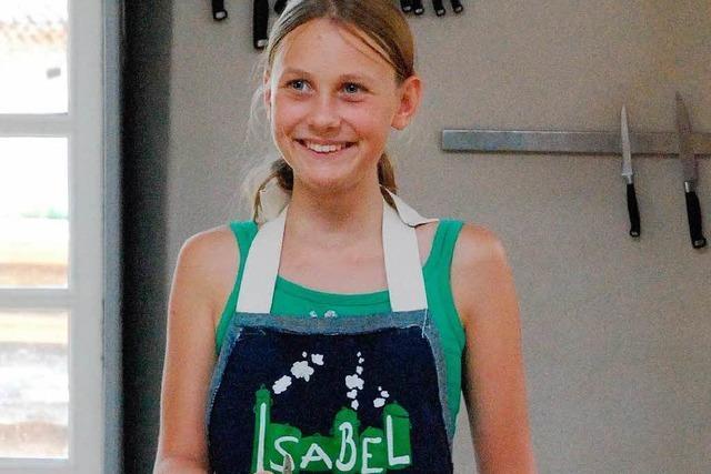 Isabel kochte vier Wochen mit Sarah Wiener
