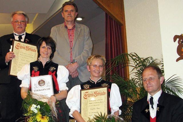 Erste Musikerin in Bernau zum Ehrenmitglied ernannt