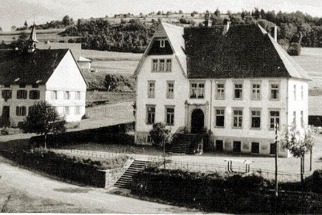 Vor 100 Jahren entstanden in Lenzkirch gleich zwei Volksschulen