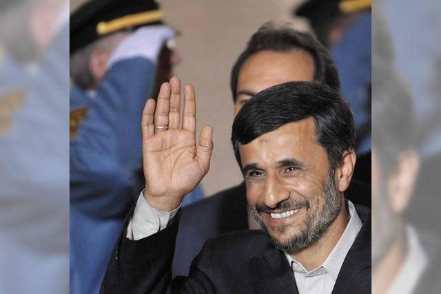 Ahmadinedschad löst mit Genfer Rede Empörung aus