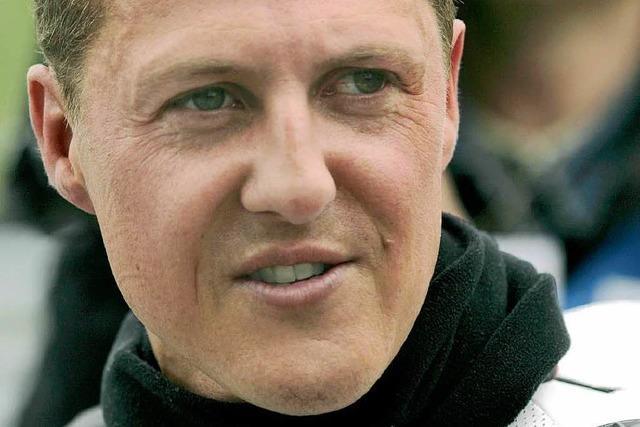 Michael Schumacher sagt Motorrad-Start ab