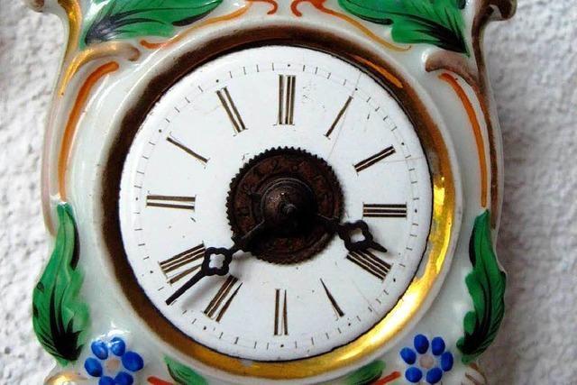 Fasziniert vom Reiz alter Uhren