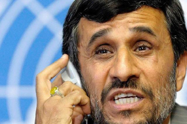 Ahmadinedschads Rede im Wortlaut