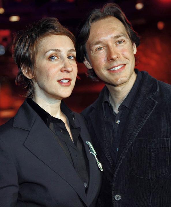 Stacey Kent und ihr Mann und Saxofonist Jim Tomlinson   | Foto: AFP