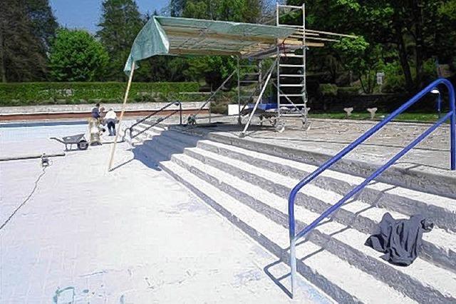 Freibad öffnet am 30. April