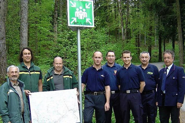 Sammelpunkte im Wald?