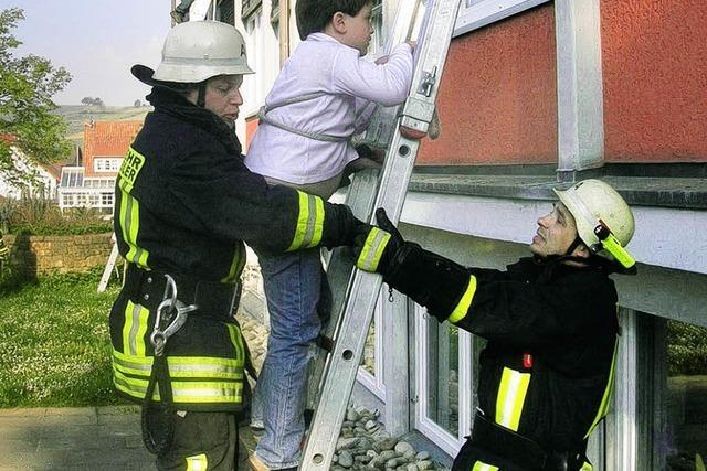 54 Kinder vor dem Feuer gerettet