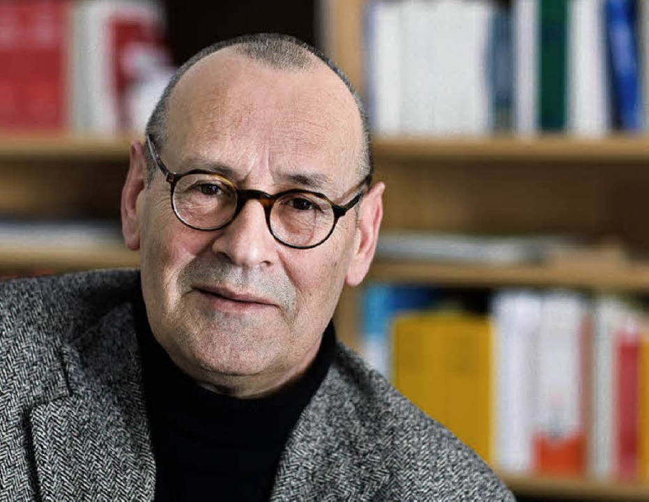Er blieb:  DDR-Kritiker Rolf Henrich heute  | Foto: dpa