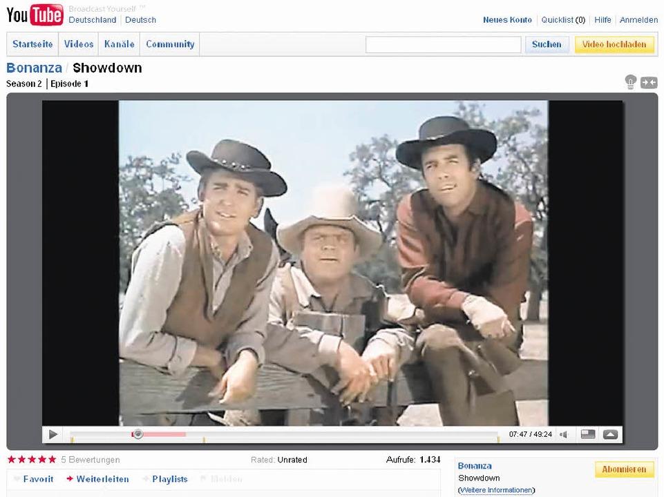 Blick in die Fernsehzukunft: Little Jo... TV-Serien frei verfügbar anzuschauen.    Foto: Screenshot