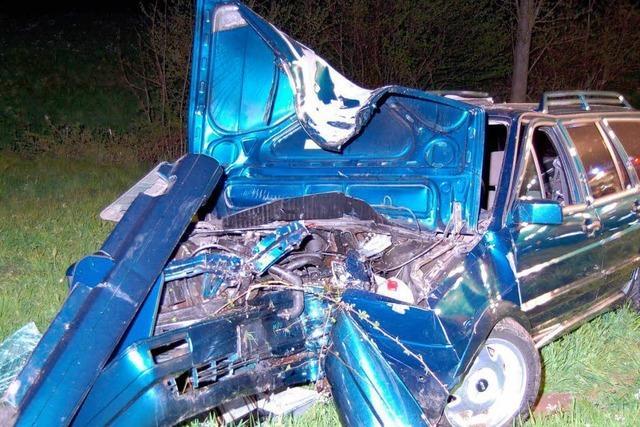 Autofahrer im Dreisamtal schwer verletzt