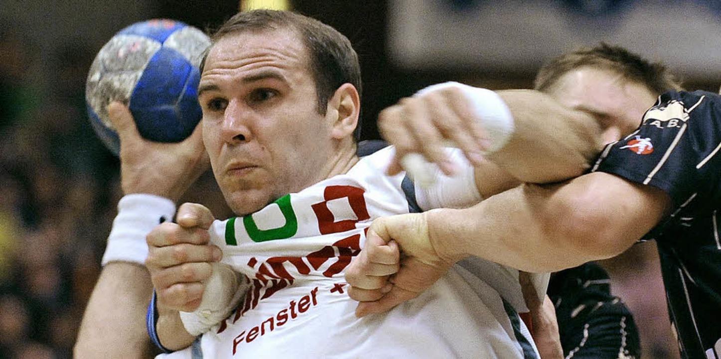 Vorbild in Sachen Einsatz: Grzegorz Garbacz  fällt verletzt aus.  | Foto: michael heuberger (a)