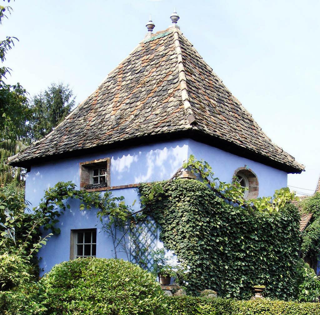 Blaue Häuser blaumachen im nordelsass freizeittipps badische zeitung