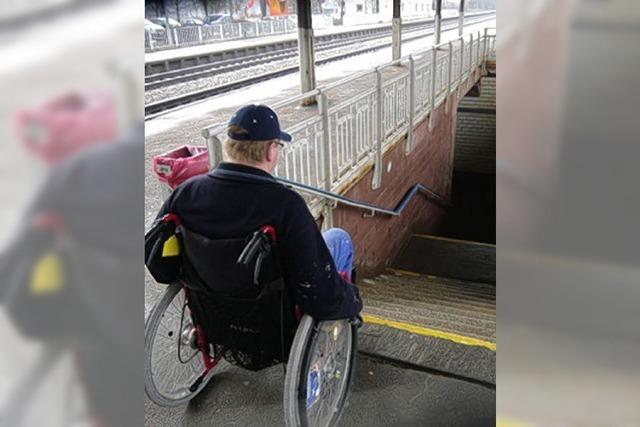 Für Rollstuhlfahrer unüberwindlich