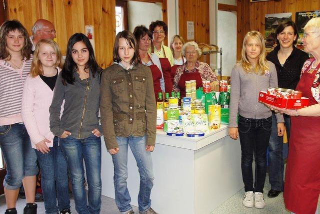 Schüler spenden für Tafel