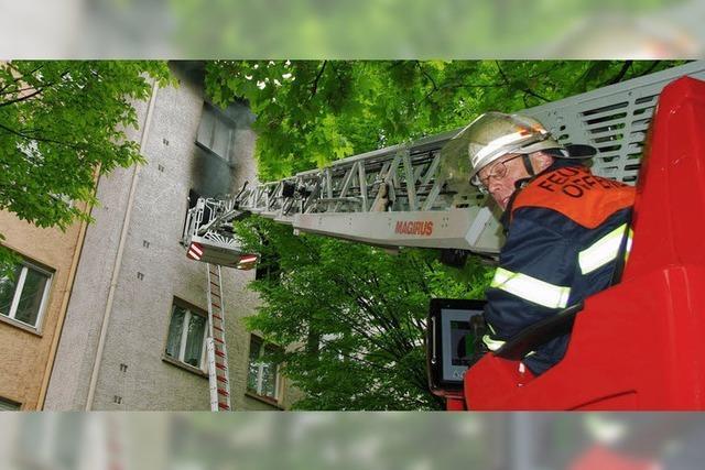 Schwerverletzter bei Wohnungsbrand