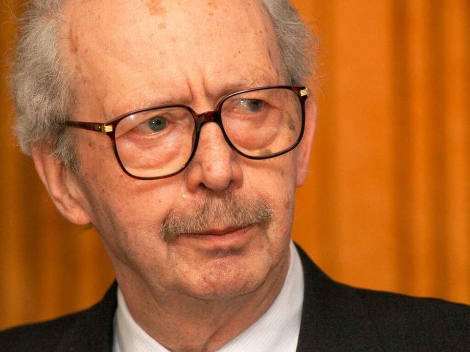 Dahrendorf im Jahr 2003.  | Foto: Ingo Schneider