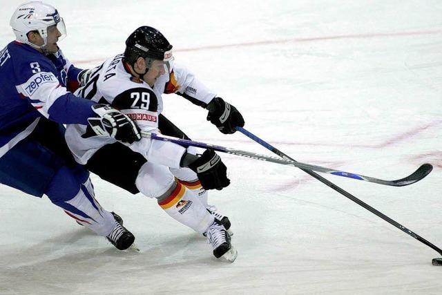 Deutsches Eishockey-Team muss bei WM in Abstiegsrunde