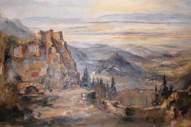 Kibiger-Bild schmückt die Dorfscheune