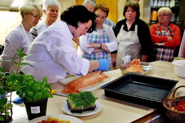 Auch altgediente Köchinnen können dazulernen