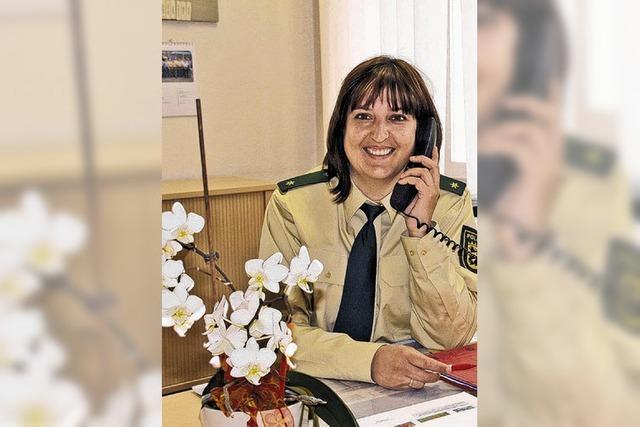 Tanja Kolberg tritt Dienst an