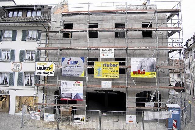 Baurechtsamt: Gebäudehöhe entspricht Genehmigung