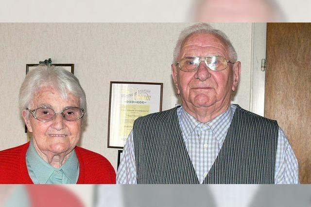 Die Nachbarskinder heirateten vor 60 Jahren