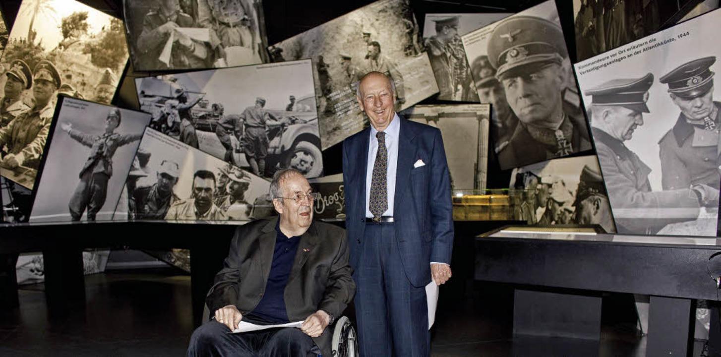 Nachkommen zweier Kriegslegenden, die ...an Parkinson erkrankte Manfred Rommel   | Foto: ddp