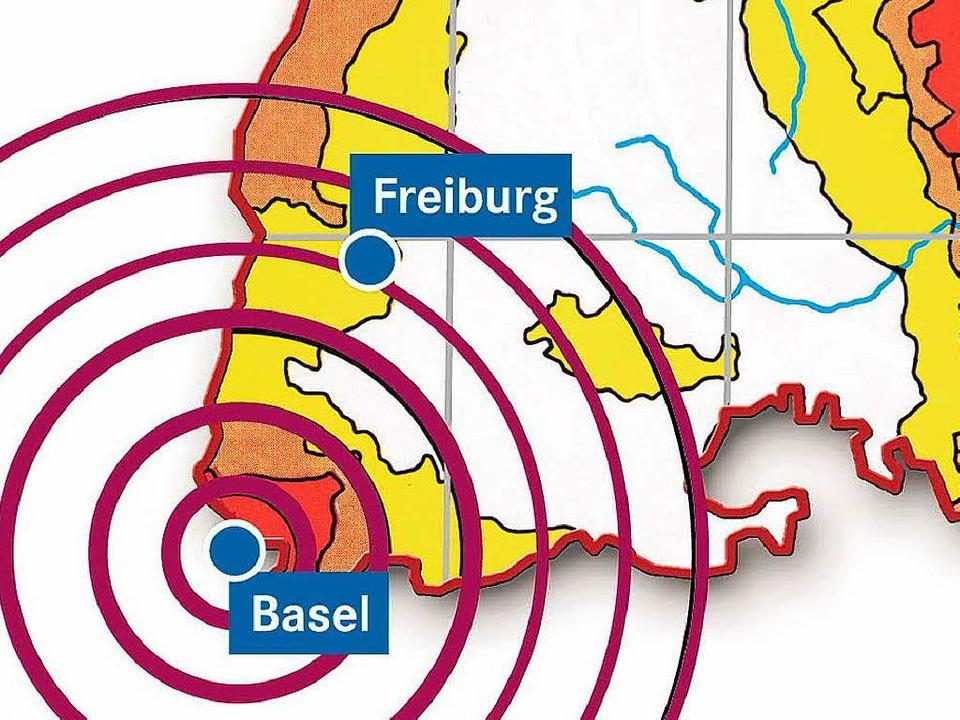 Als in Basel 1356 die Erde bebte, ware...ngen bis weit nach Südbaden zu spüren.  | Foto: -