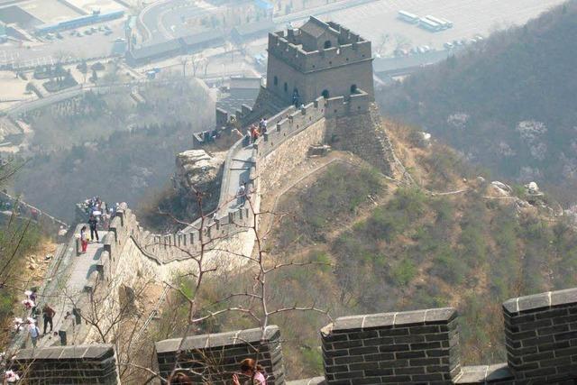 Mächtige Mauer sprengt Vorstellungskraft