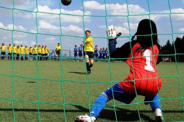 Ein neuer Treff für Fußballgirls in Kippenheimweiler
