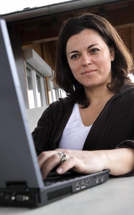 Carolyn Oesterle schreibt derzeit an ihrer Doktorarbeit.  | Foto: Patrik Müller